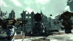 Fallout 3 : In den VATS-Kämpfen setzt das Spiel die Schusswechsel in verschiedenen Ansichten schick in Szene.