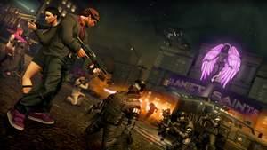 Saints Row: The Third : Wer Gewalt gegen Zivilisten anwendet, wird von der Polizei gejagt.