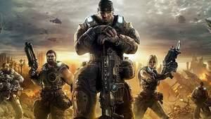 Gears of War 4 : Marcus Fenix (mitte)sollte ursprünglich kein fluchender Muskelberg werden.
