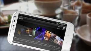 HTC Sensation XL : Das große Display gefällt uns vor allem bei Spielen und Videos.
