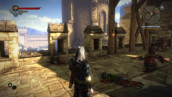The Witcher 2: Assassins of Kings : Auch die mittlere Stufe kann sich sehen lassen.