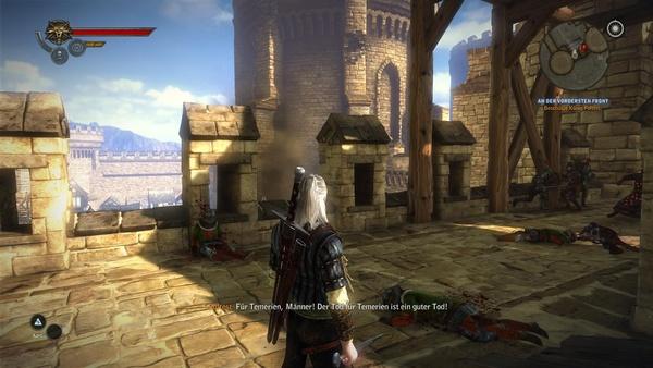 The Witcher 2: Assassins of Kings : Auf dem PC sieht The Witcher 2 mit maximalen Details immernoch am besten aus.