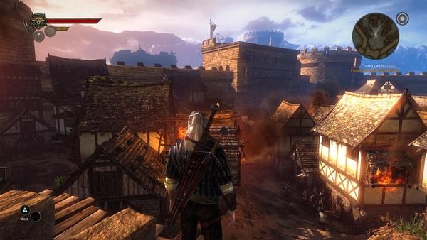 The Witcher 2: Assassins of Kings : In hohen Einstellungen verliert der Rauch ein wenig an Volumen, steht sehr hohen Details ansonsten in nichts nach.