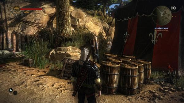 The Witcher 2: Assassins of Kings : Bei aktiviertem SSAO wirkt die Szene natürlich ausgeleuchtet.