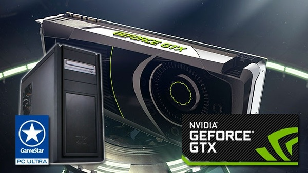 Nvidia-Skyrim-Schnitzeljagd : Der Hauptpreis: 1x One GameStar-PC Ultra mit der neuen Nvidia Geforce GTX 680 im Wert von 1.500 Euro.