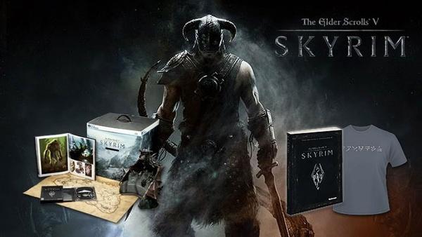 Nvidia-Skyrim-Schnitzeljagd : 1x die Collector's Edition von The Elder Scrolls 5: Skyrim (PC) plus das offizielle Lösungsbuch und ein Dragonborn-T-Shirt.