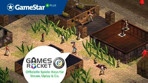 Jagged Alliance 2: Wildfire von Gamesrocket : Die richtige Strategie ist der Schlüssel zum Erfolg in Jagged Alliance 2: Wildfire - der neuen Vollversion bei GameStar Plus, zur Verfügung gestellt von unserem Kooperationspartner Gamesrocket.