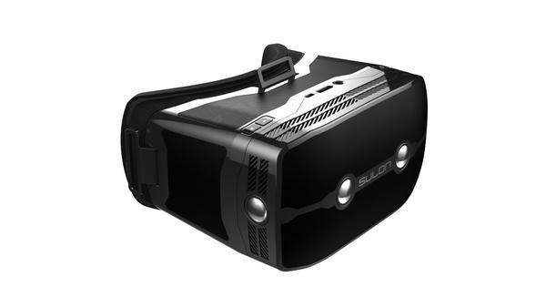 Sulon Q VR-Headset : Das Sulon Q ist ein VR/AR-Headset mit integriertem Windows-10-PC samt AMD-APU.
