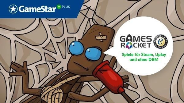 Journey of a Roach bei GameStar Plus : Journey of a Roach: Kämpfen Sie sich im Gratis-Spiel kopfüber aus dem Atombunker ins Tageslicht