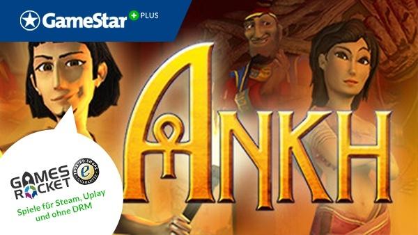 Ankh Anniversary Edition bei GameStar Plus : Dank Gamesrocket - dem deutschen Spieleshop mit den besten Deals - gibt's jetzt die Ankh Anniversary Edition bei GameStar Plus als Vollversion.