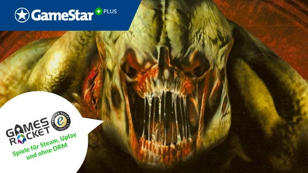 Doom 3 für Sie als Vollversion : Holen Sie sich jetzt GameStar Plus und sichern Sie sich die Vollversion von Doom 3 - zur Verfügung gestellt von unserem Premium-Partner Gamesrocket. Profitieren Sie zusätzlich von exklusiven Reportagen und Videos ganz ohne Werbeunterbrechung.