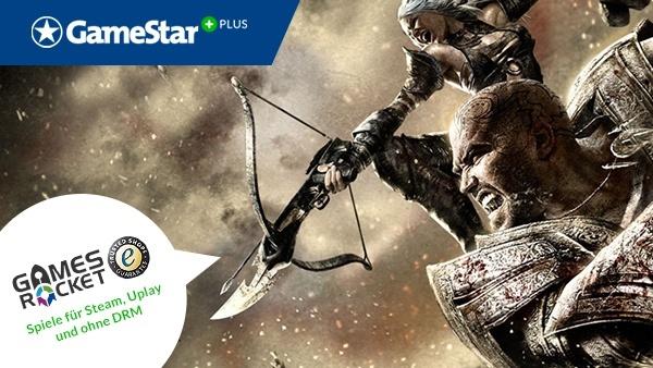 Hunted: Die Schmiede der Finsternis gratis : Mit GameStar Plus und Gamesrocket gibt es jeden Monat kostenlos eine neue Vollversion. Dieses Mal dürfen Sie die Mysterien des düsteren Fantasy-Shooters lüften.