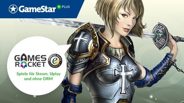 King's Bounty: Armored Princess bei Plus : Mit GameStar Plus und Gamesrocket gibt es jeden Monat eine neue Gratis-Vollversion. Im Dezember verschenken wir »King's Bounty: Armored Princes«.