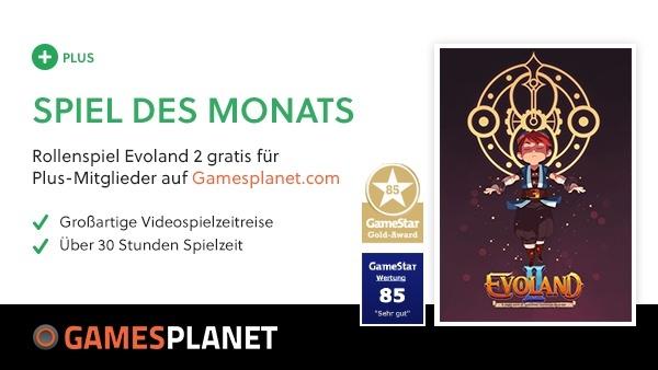 Grandiose Videospiel-Zeitreise : Gamesplanet Deutschland bietet seit über zehn Jahren garantiert legale Keys inklusive deutschem Support und ist offizieller Vollversionspartner von GameStar Plus.