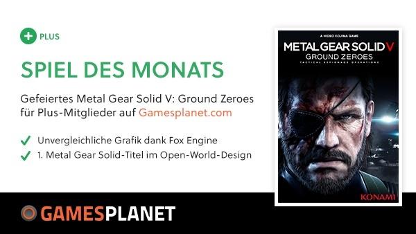 Für alle Hardcoregamer : Gratis-Spiel im Mai: GS Plus Vollversion Metal Gear Solid V