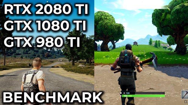 Nvidia Geforce RTX 2080 Ti - PUBG & Fortnite 4K-Benchmark mit Vergleich zu  GTX 980 Ti und 1080 Ti
