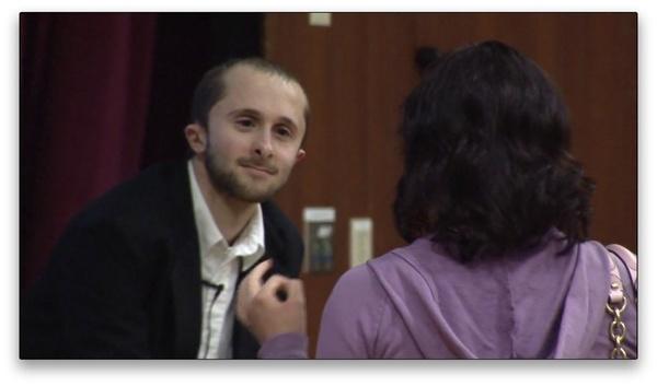 Interview mit Danny Ledonne : Danny Ledonne - hier in einer Szene aus dem Film Playing Columbine - entwarf das kontroverse Super Columbine Massacre RPG.