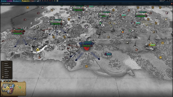 Civilization 6: Vesuvius - Mögliche Erweiterung mit Fokus