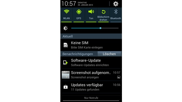 Samsung S3 Mini Sim Karte.Samsung Galaxy S3 Mini Handliches Android Smartphone