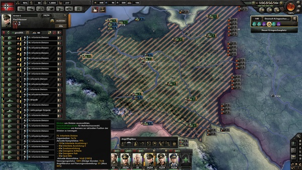 Hearts of Iron 4 - Update 1 1 bringt KI auf Vordermann