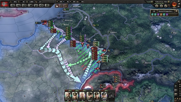 Hearts of Iron 4 - Update 1 1 bringt KI auf Vordermann, Patch-Notes