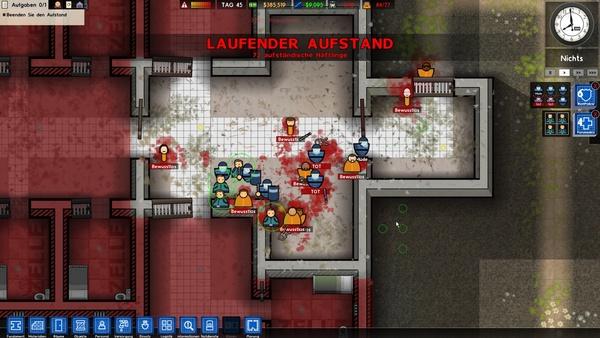 Prison Architect - Finales Update 2 0 mit Cheats und Dev-Tools