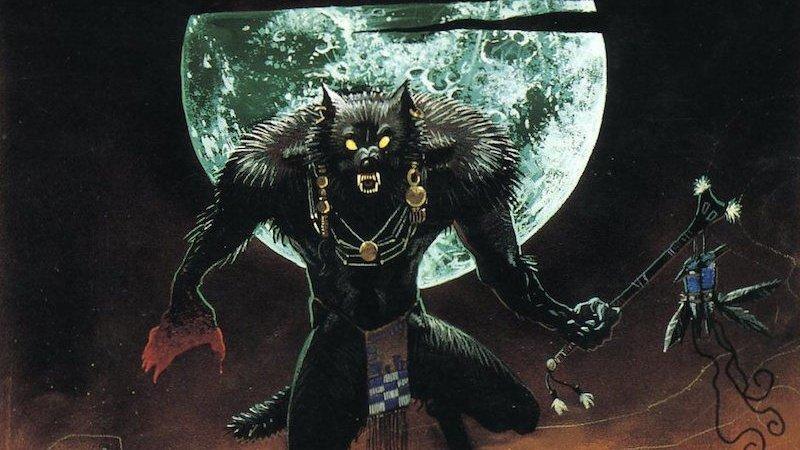 Ein bin werwolf oder ich test vampir Blut trinken
