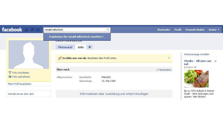 Freundschaft ohne facebook schicken nachricht Facebook Nachricht