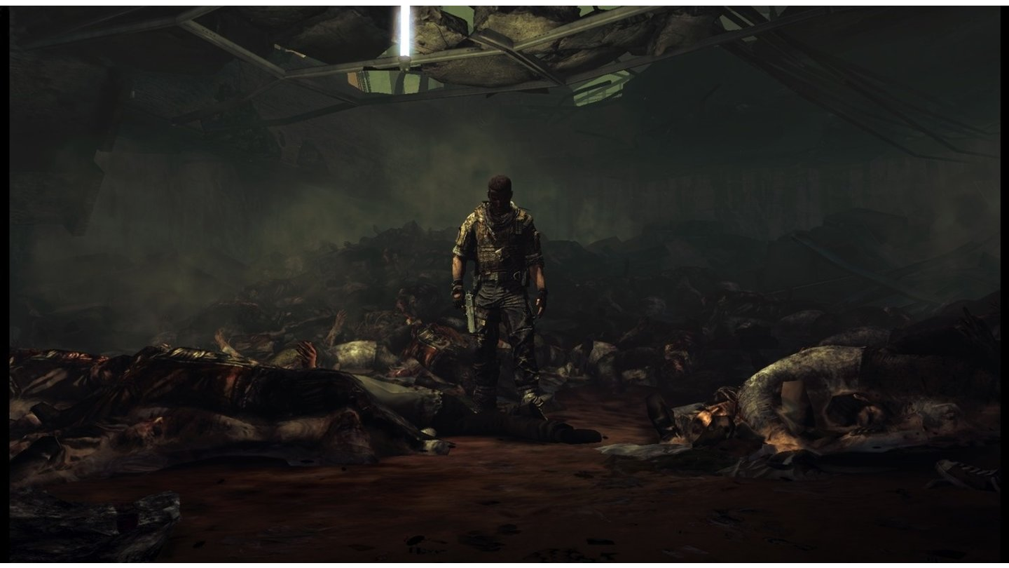 Spec Ops: The LineEin Screenshot aus dem Trailer, der am 21.11.2011 online geht.