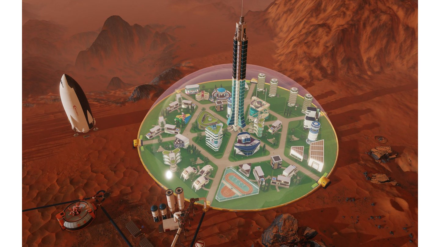 Surviving Mars - Screenshots