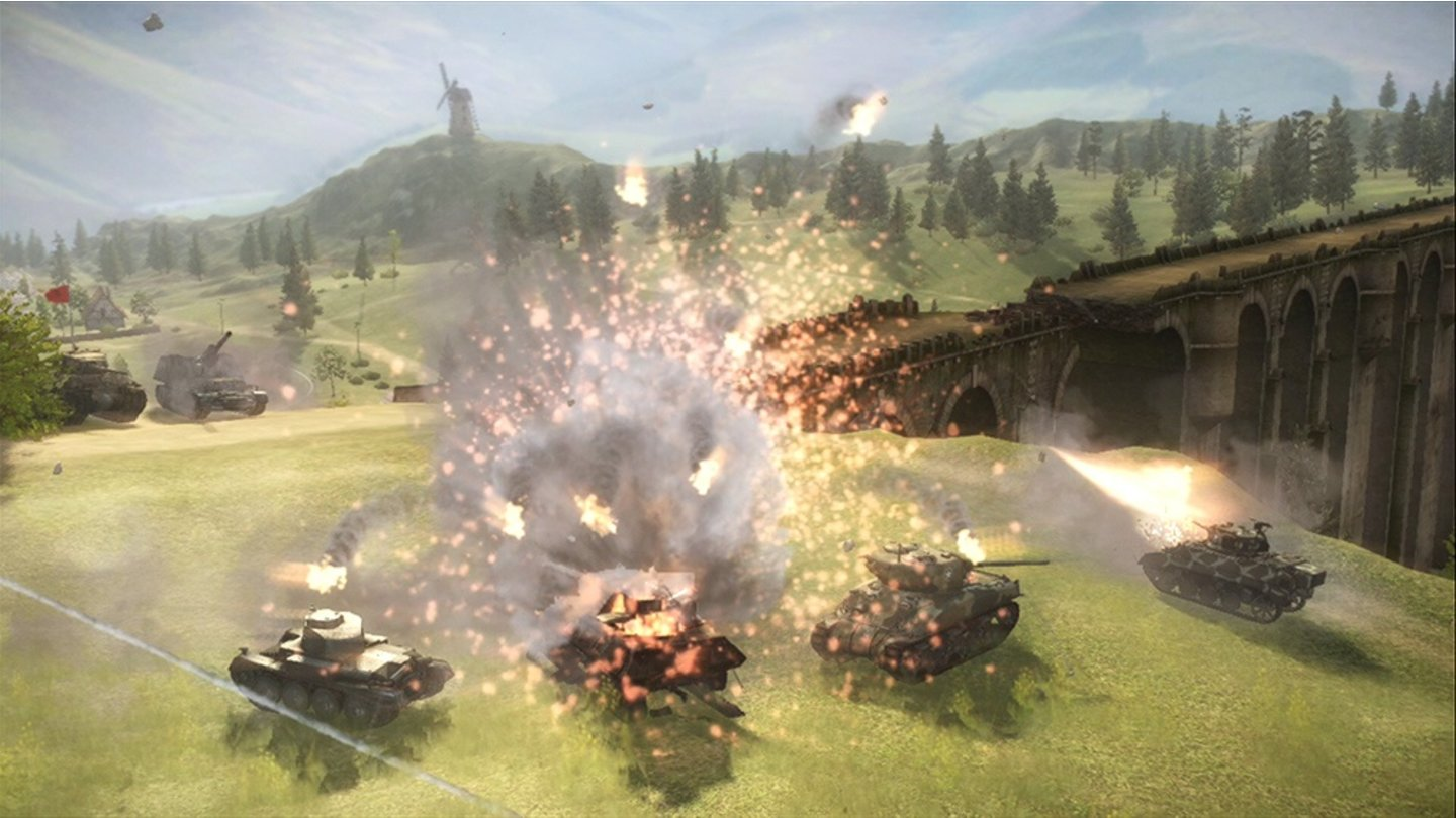 World of Tanks - Screenshots aus der Xbox-360-Version