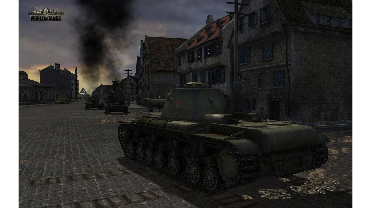 World of TanksScreenshots zum Open-Beta-Start des Panzer-Onlinespiels.