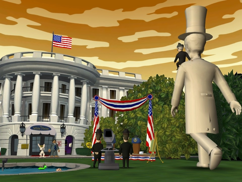 Sam & Max: Abe Lincoln must die!