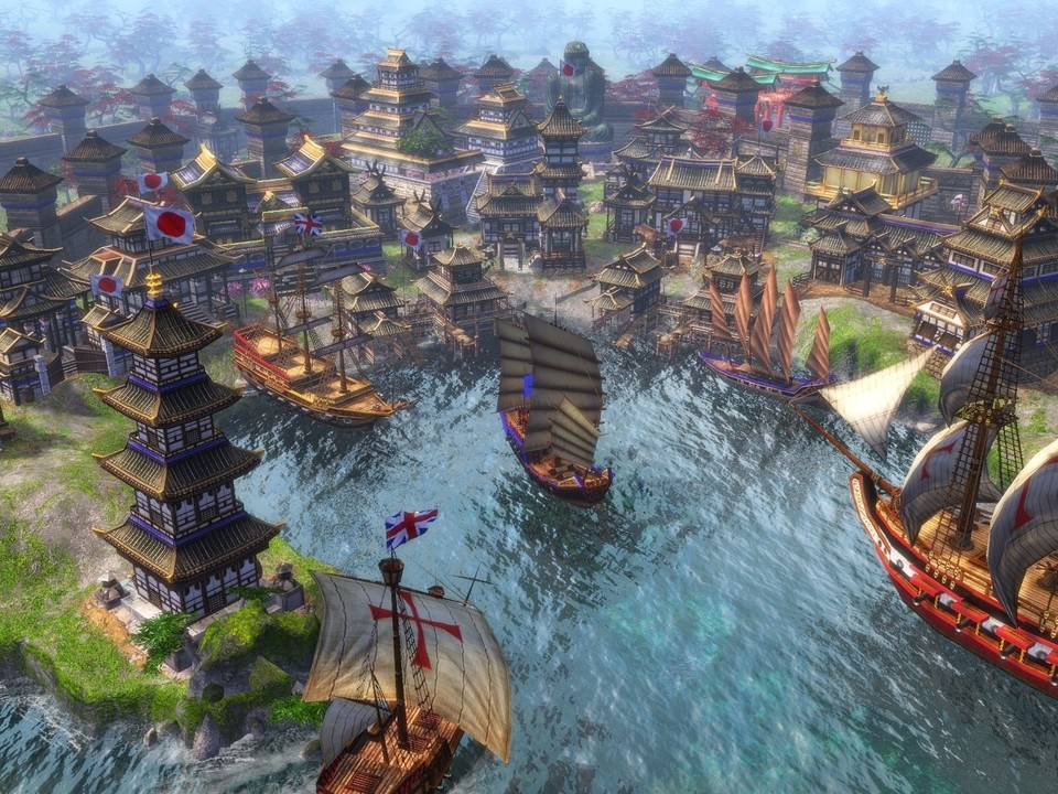 Age of Empires 3: The Asian Dynasties.