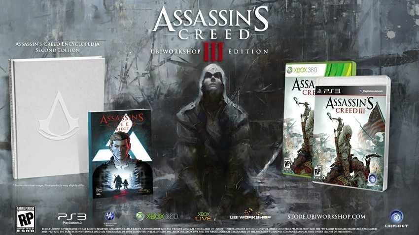 Die »Ubiworkshop Edition« von Assassin's Creed 3