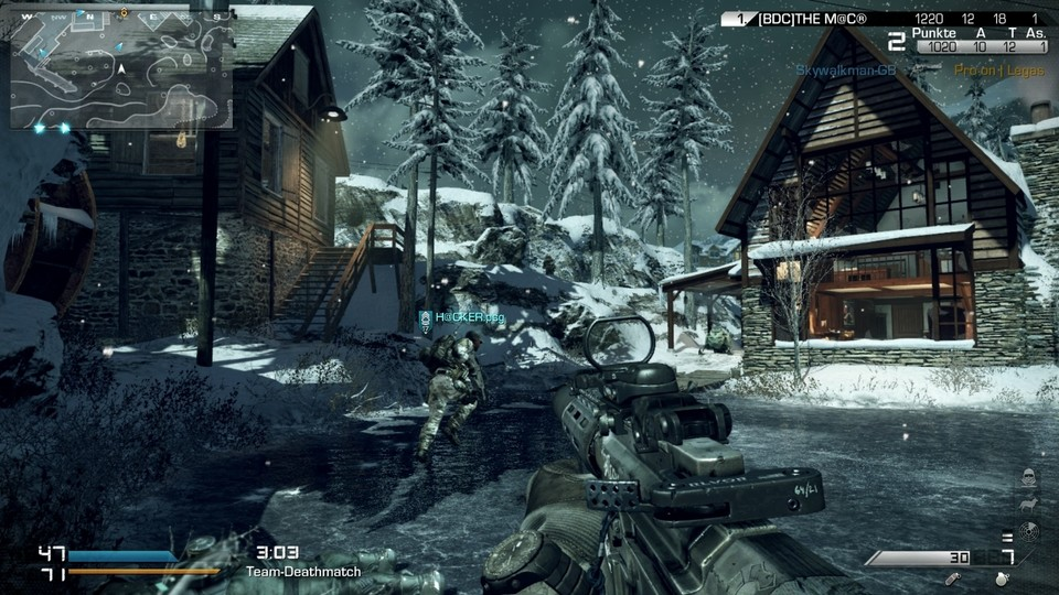 Der Season-Pass von Call of Duty: Ghosts enthält vier DLCs.