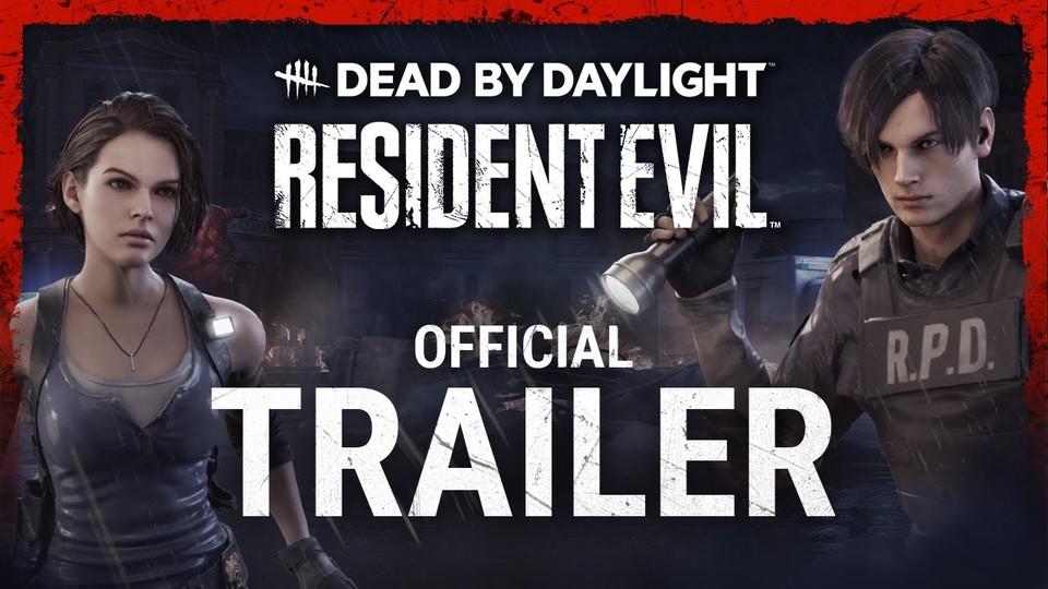 Dead by Daylight trifft Resident Evil: Im neuen Trailer macht Nemesis Jagd auf Jill & Co.