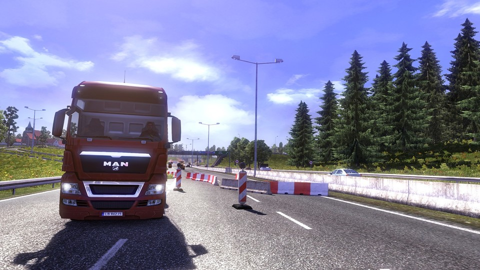 Mit dem Update 1.60 für Euro Truck Simulator hat SCS Software das Portal »World of Trucks« integiert.