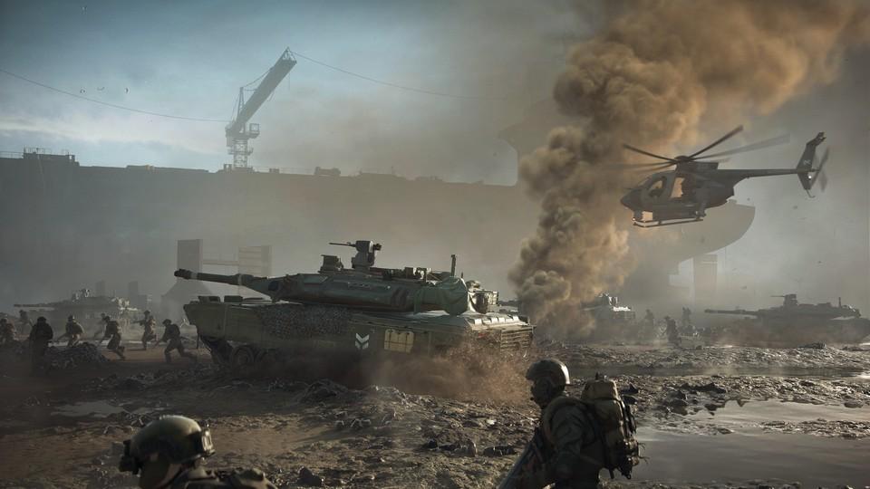 Seit dem ersten Teil setzte Battlefield auf 64 Spieler. Jetzt wird das Limit auf einen Schlag verdoppelt.