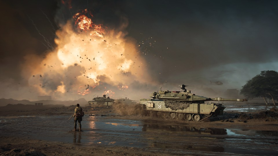 Die Spielfelder von Battlefield 2042 sind so groß, dass die Entwickler sie in Spielbereiche einteilen. Jeder Bereich verfügt über mehrere Missionsziele.