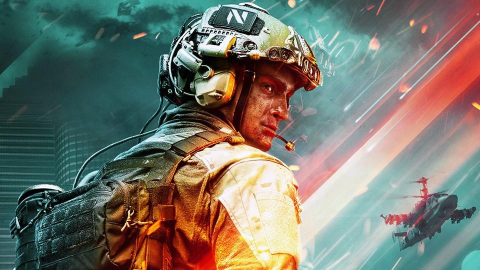 Die Leaks lagen richtig: Das neue Battlefield spielt in der nahen Zukunft.