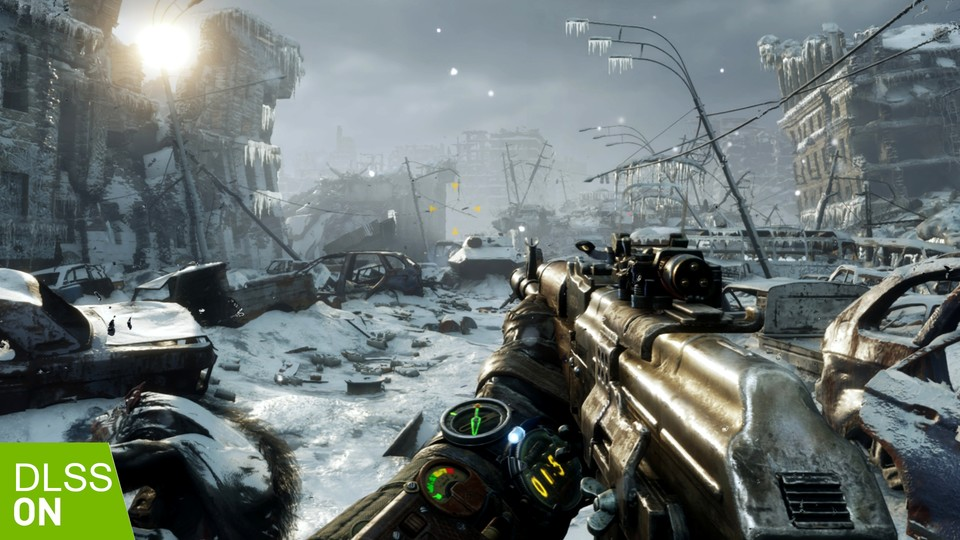 Wie gut läuft die Metro Exodus: Enhanced Edition samt DLSS 2.0?