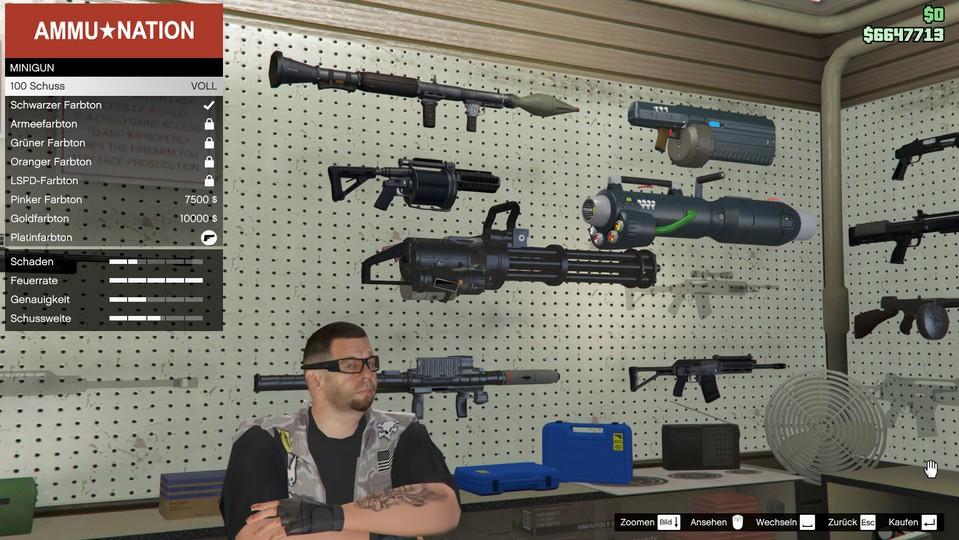 GTA Online: Лучшее оружие