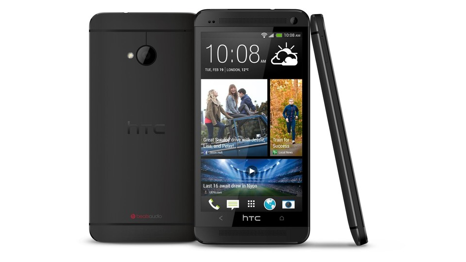 HTC One in schwarz