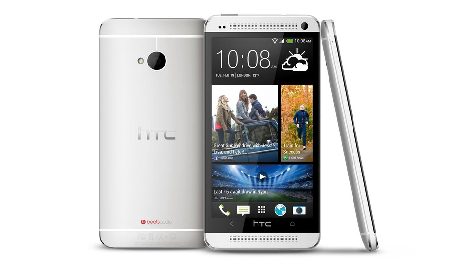 HTC One in weiß
