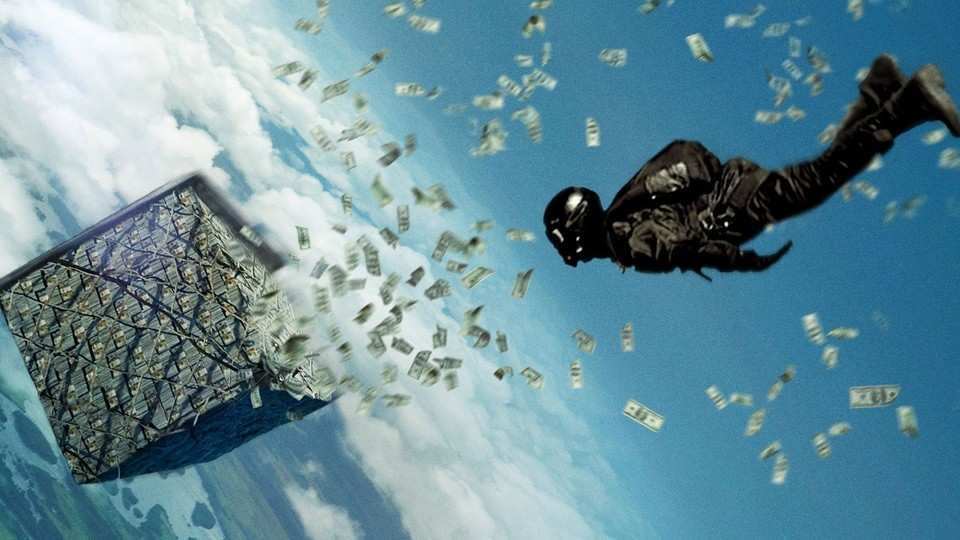 Point Break - Trailer zum Action-Thriller mit spektakulären Stunts