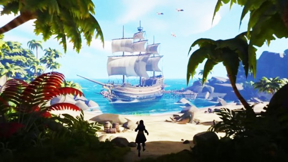 Sea of Thieves - E3-Ankündigungs-Trailer zum Online-Piratenspiel