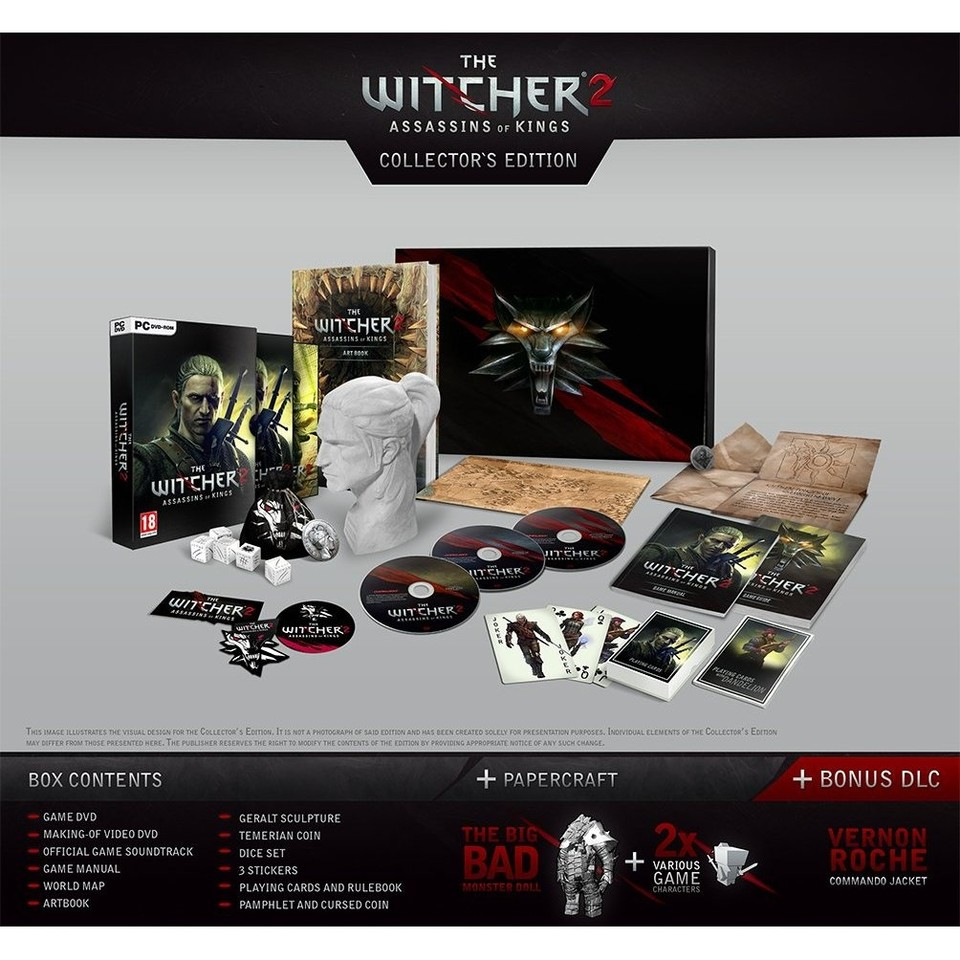 The Witcher 2: Collector's Edition