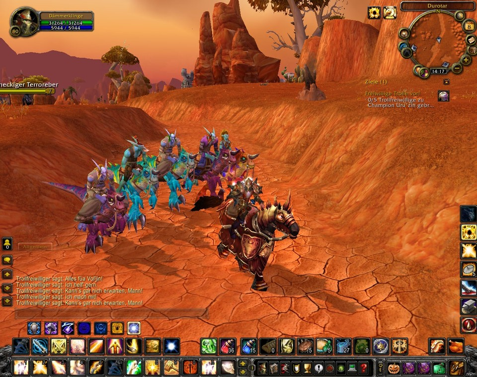 Die Pre-Events zu World of WarCraft: Cataclysm wurden gestartet.