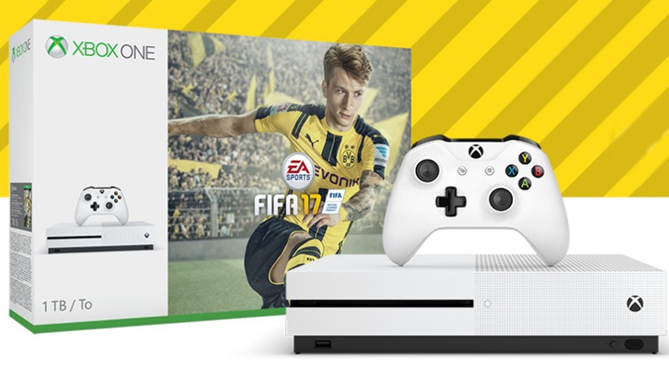 Xbox One S FIFA 17 Bundle (500GB oder 1TB)